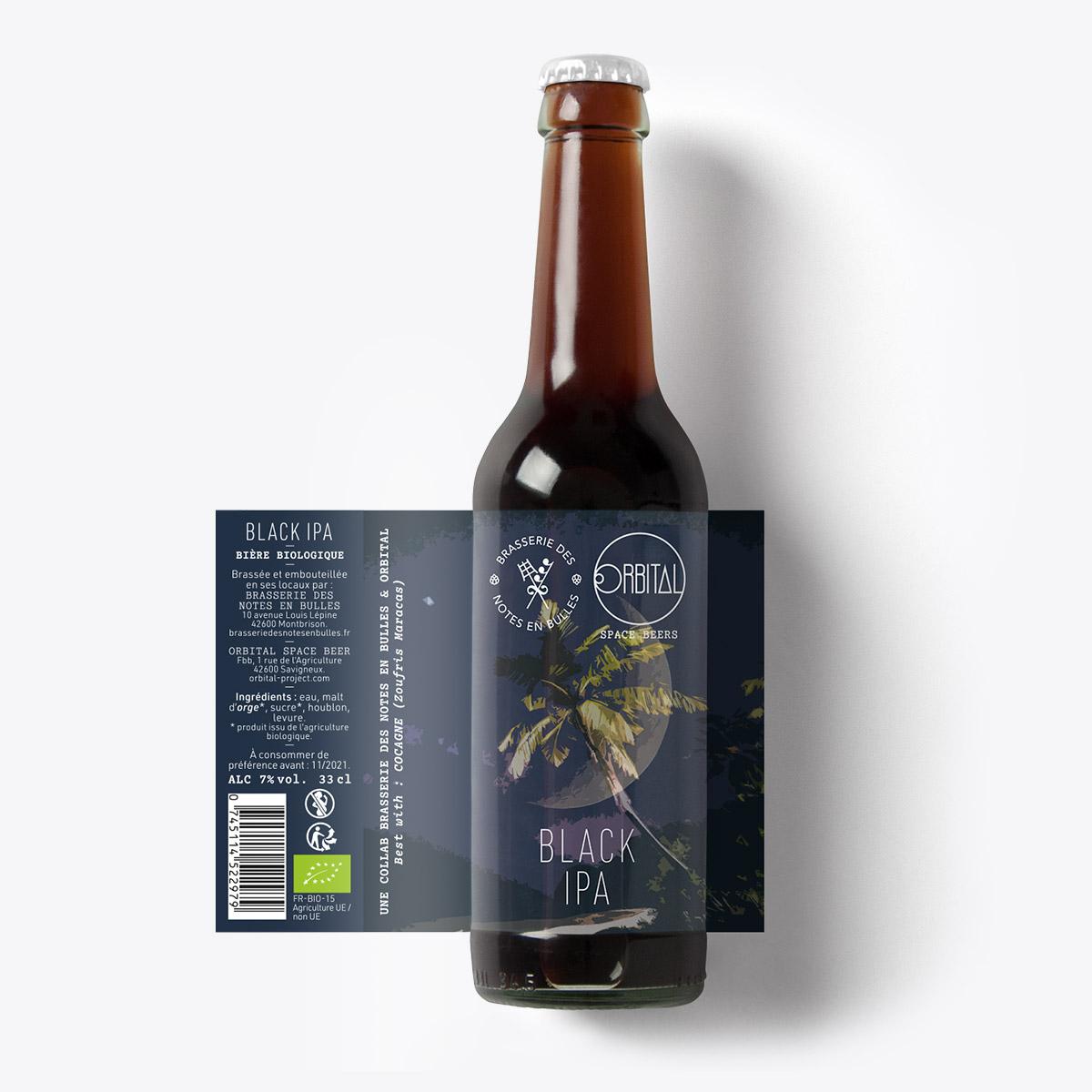Orbital Space Beers - Black IPA
