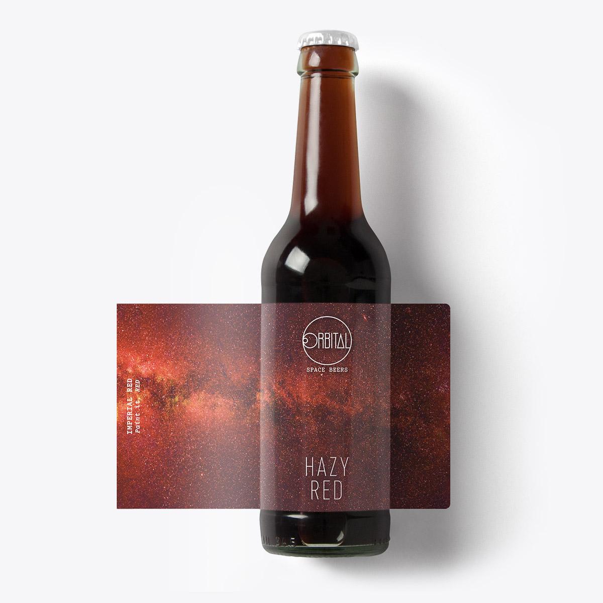 Orbital Space Beers - Hazy Red