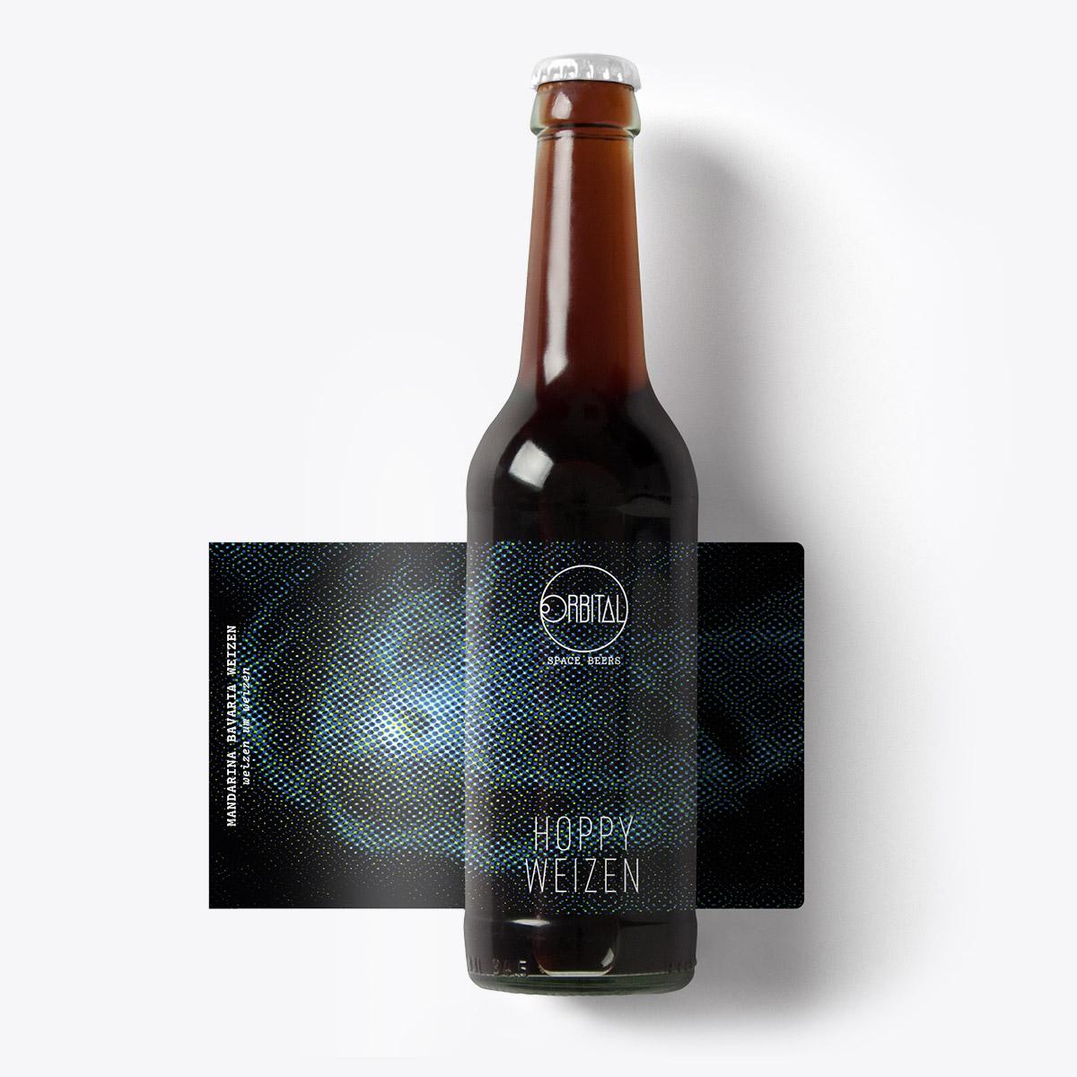Orbital Space Beers - Hoppy Weizen