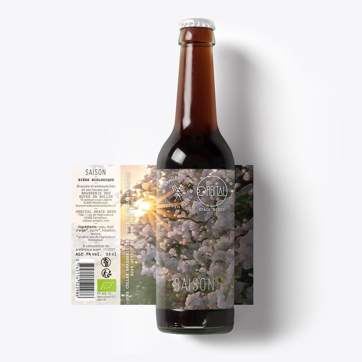Orbital Space Beers - Saison