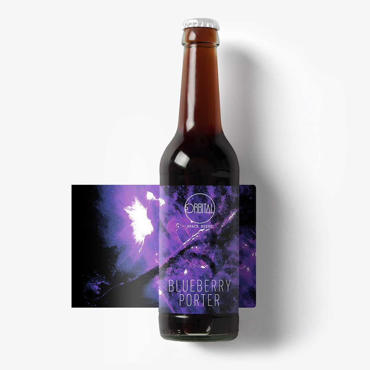 Orbital Space Beers - Blueberry Porter
