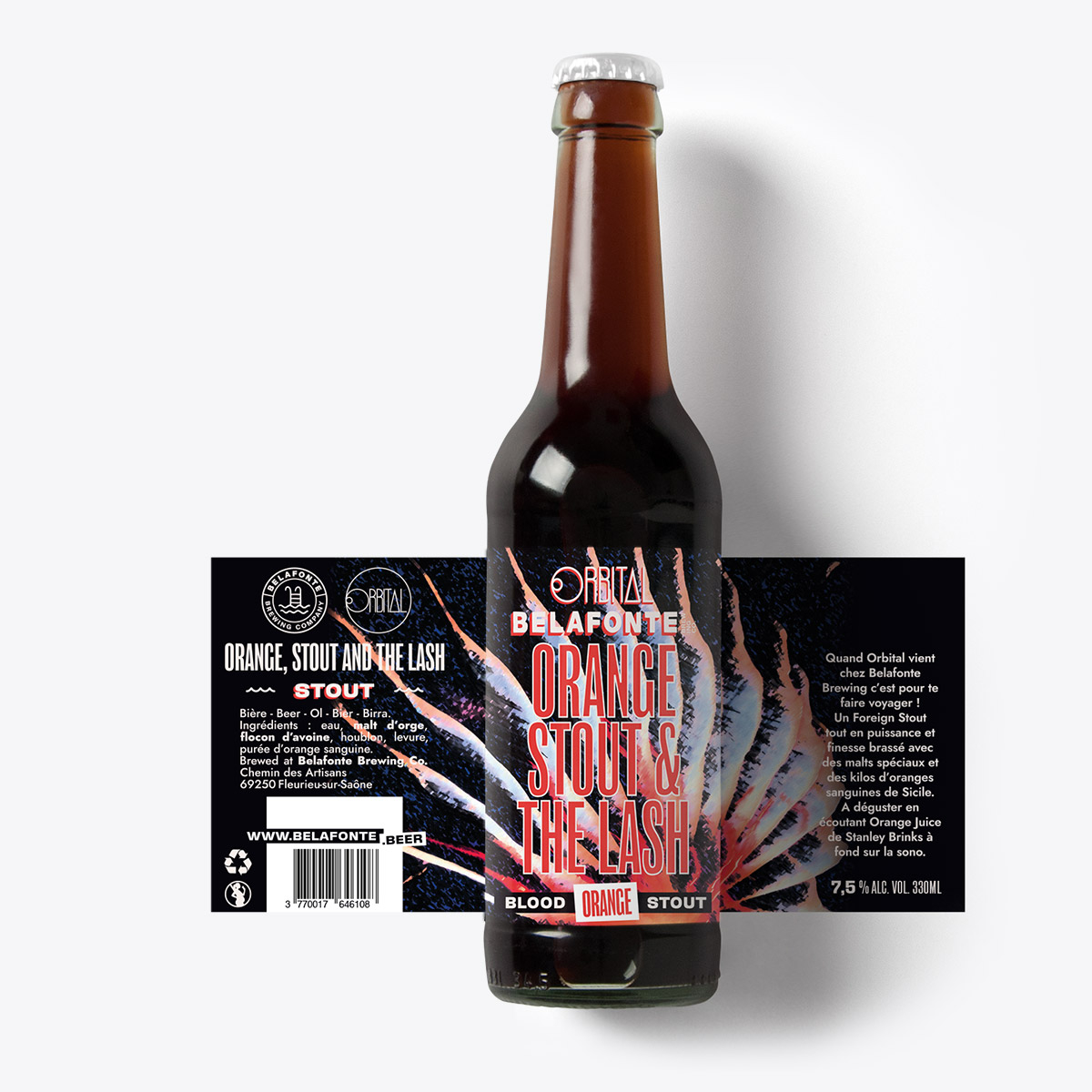 Orbital Space Beers - Orange stout & the lash