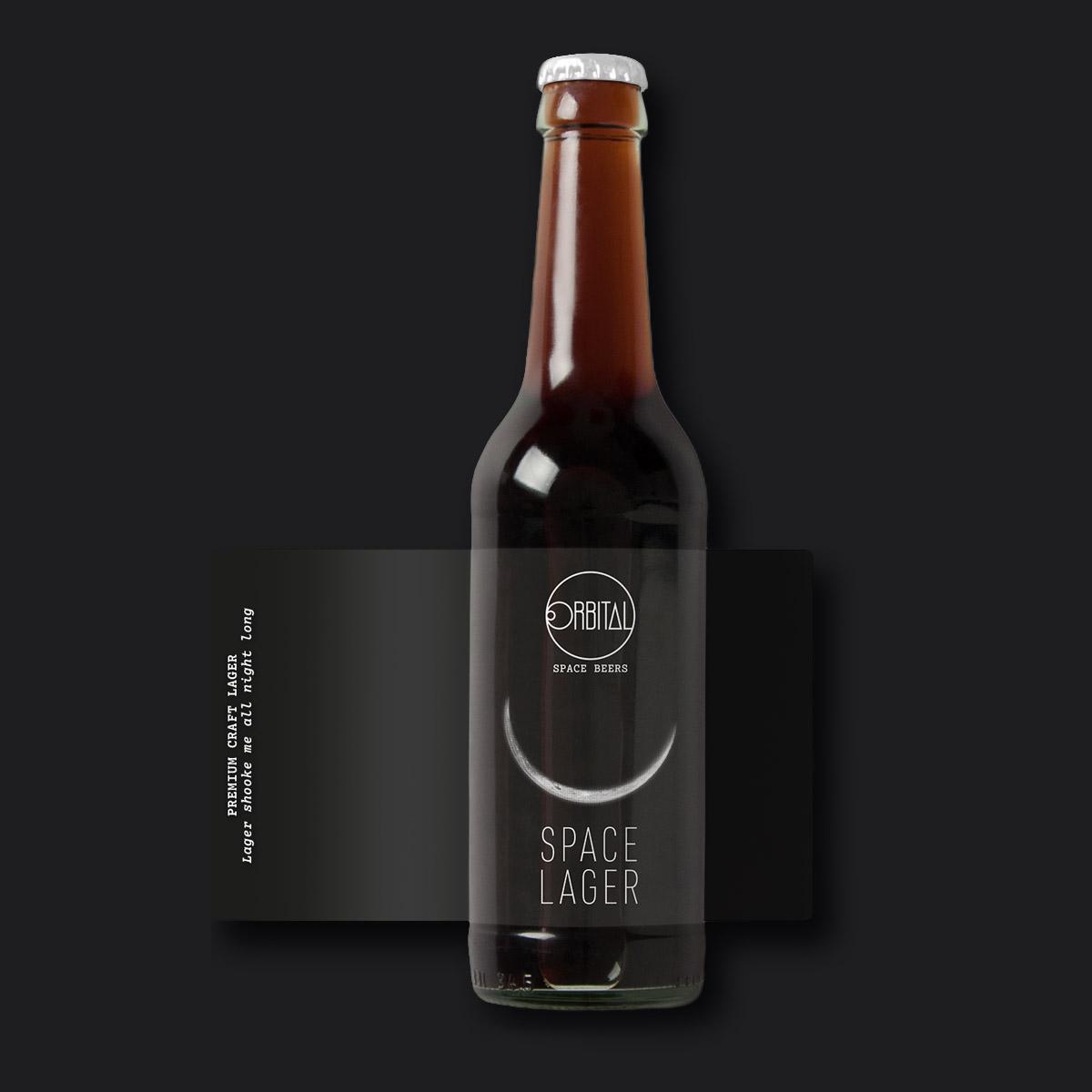Orbital Space Beers - Space lager